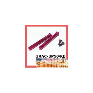 3RAC-BP50/RE Aluminum Body Post 50mm (Red)