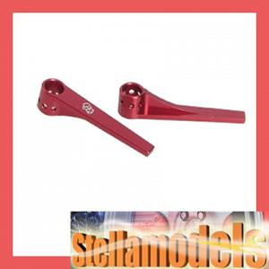 3RAC-BP128/RE Aluminum Rear-End Stiffener (Red)