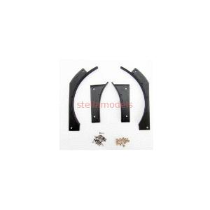 Front Wheelarch Extension (1Pr.) for Tamiya 1/14 MAN TGX Tractor Trucks (T-1004) [CChand]