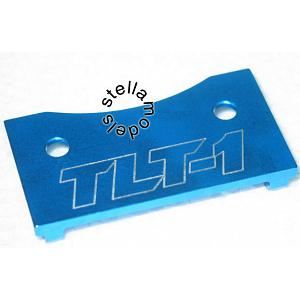 TLT-003 Aluminum F/R Chassis Plate - 1pc - for TLT-1
