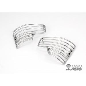Stainless steel headlight grille for 1/14 TAMIYA Mercedes-Benz AROCS 3348 (G-6175) [LESU]