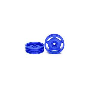 54680 2WD Buggy Front Star-Dish Wheels (Blue, 2pcs.)