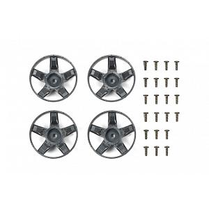 47410 WR-02CB S Parts (Spokes) (Deep Gray) [TAMIYA]