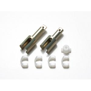 54543 Aluminum Cup Joints for TB-04 Gear Differential Unit (Long & Short) [TAMIYA]