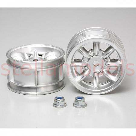 50676 Rover Mini Cooper 94 Monte-Carlo Plated Wheels - 2pcs 1