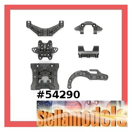 #54290 FF-03 Carbon Reinforced M Parts (Damper Stay) [TAMIYA] 1
