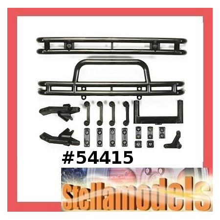 54415 R/C 4x4 Vehicle Black Bumper (D Parts) 1