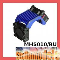 3RAC-MHS010/BU Alu Brushless 540 Motor Heatsink w/Twin Fan - Blue
