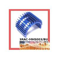 3RAC-MHS003/BU Aluminum Motor Heatsink For-540 Motor (Fan-Shaped) - Blue