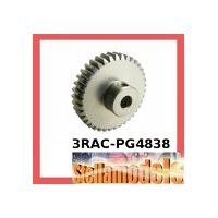 3RAC-PG4838 48 Pitch Pinion Gear 38T (7075 w/ Hard Coating)