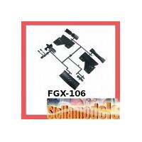FGX-106 Plastic Parts Part F For 3racing Sakura FGX