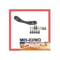 M05-03/WO Graphite Front Shock Tower for M-05