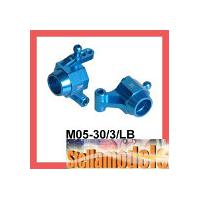 M05-30/3/LB Rear Alu Hub Carrier (3 Degree) for M-05