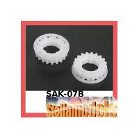 SAK-07B Center Pulley Set 21T for Sakura Zero