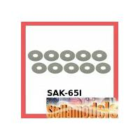 SAK-65I M5 x 15.4 x 0.3 Spacer (10 Pcs) For #SAK-65
