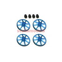 ST-001/V2/LB Setup Wheels (4 Pcs) - Ver. 2 - Light Blue
