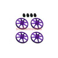 ST-001/V2/PU Setup Wheels (4 Pcs) - Ver. 2 - Purple