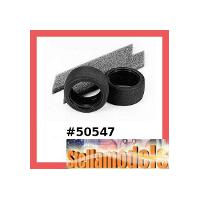 50547 Wide Racing Slick Tires w/Inner Sponge (1 Pair)