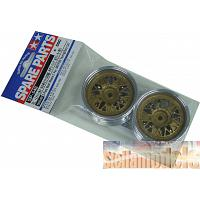50548 2-Piece Mesh Wheels (1 Pair,4WD/FWD Touring & Rally Car)