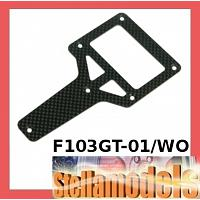 F103GT-01/WO Graphite T-Bar For Tamiya F103GT