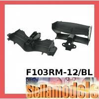 F103RM-12/BL F&R Wing Set - High Downforce for Tamiya F103RM BL