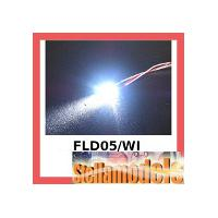 3RAC-FLD05/WI 5MM Flash LED LIGHT SET - WHITE COLOR FOR LED SYS