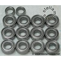 MBB-58307 Ball Bearing Set for M-04/M Chassis Kits