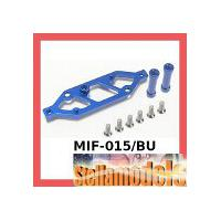 MIF-015/BU Alum Rear Chassis Brace Stiffener For MINI INFERNO -
