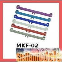 MKF-02 Front Toe In / Out Linkage Set For Mini Z F-1