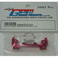 MMZ030 Alloy Rear Damper Mount - 1pc RED
