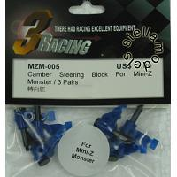 MZM-005 Camber Steering Block for Mini Z Monster