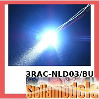 3RAC-NLD03/BU 3MM NORMAL LED LIGHT SET - BLUE COLOR FOR LED SYST