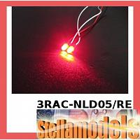 3RAC-NLD05/RE 5mm Normal LED Light - Red
