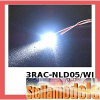 3RAC-NLD05/WI 5mm Normal LED Light - White