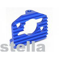 #RC18-013/BU Aluminum Motor Mount For RC18T/MT BLUE