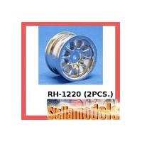 RH-1220 Mini 10 Spoke Wheel (Silver) (2PCS.)