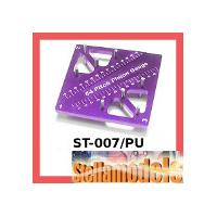 ST-007/PU Pinion & Camber Gauge (Purple)
