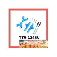 TTR-124BU Aluminum Adjustable Rear Upper Arm Set for TT-01, TT-01 Type-E