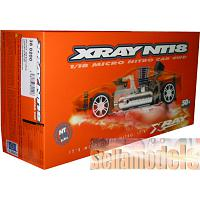 #380200 XRAY NT18 WITH 0.8cc ENGINE & MUFFLER