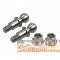 ZX5-23 Titanium King Pin For Kyosho Lazer ZX-5