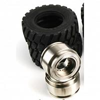 1/15 loader wheel and tire set (RD-B001) [LESU]
