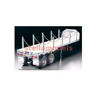 56306 Flatbed Semi-Trailer for Tractor Trucks