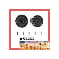 51462 TA06 Rear Gear Differential Case Set (52T)