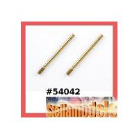 54042 TRF501X Hard Titanium Coated Piston Rod (Front/2pcs.)
