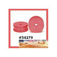 54279 DN-01 Front Dish Wheels (Pink)