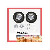 56513 TWIN-SPOKE REAR ALUMINUM WHEELS (2PCS.)