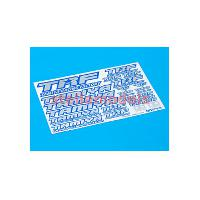 42237 TRF Sticker C (Blue Border / Mirror Finish)