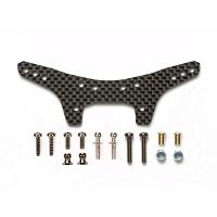 54563 DT-03 Carbon Damper Stay (Rear) [TAMIYA]