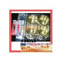 84326 WR-02 Gold Plated Wheel Set (F & R)